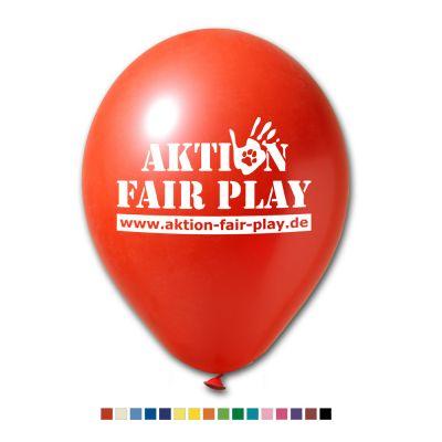 Werbeluftballons Ø 27 cm - Preis per 1.000 Stück inkl. 1/0 Siebdruck W2001 bedrucken
