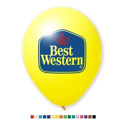 Werbeluftballon Ø 27 cm - Preis per 1.000 Stück inkl. 2/0 Siebdruck W2002 bedrucken