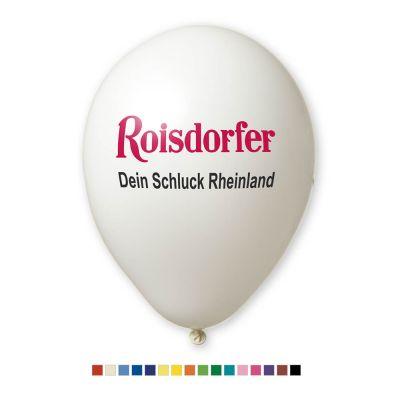Werbeluftballon Ø 33 cm - Preis per 1.000 Stück inkl. 2/0 Siebdruck W2006 bedrucken