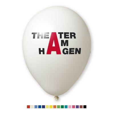Werbeluftballon Ø 35 cm - Preis per 1.000 Stück inkl. 2/0 Siebdruck W2010 bedrucken