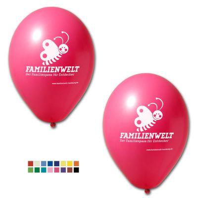Werbeluftballon Ø 33 cm - Preis per 1.000 Stück inkl. 1/1 Siebdruck W2007 bedrucken