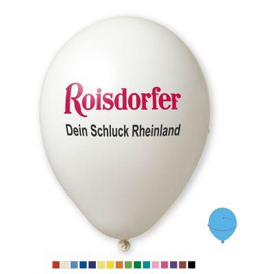 Werbeluftballon Ø 33 cm - Preis per 1.000 Stück inkl. 2/2 Siebdruck W2008 bedrucken