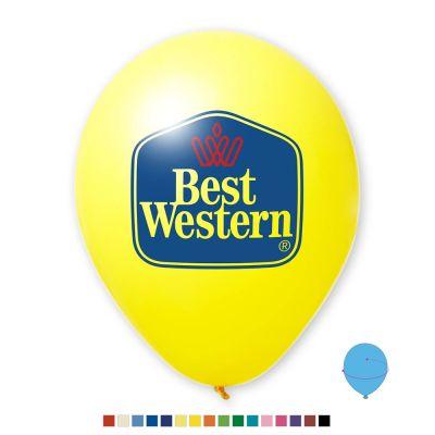 Werbeluftballon Ø 27 cm - Preis per 1.000 Stück inkl. 2/2 Siebdruck W2004 bedrucken