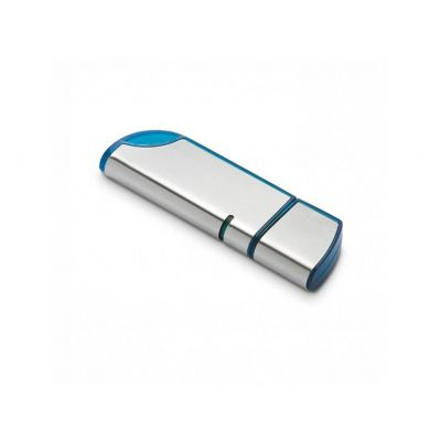 USB Stick roundness blau-silber WM0003131
