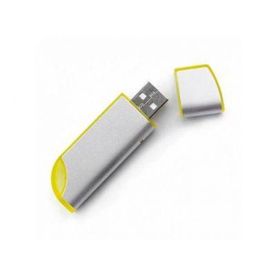 USB Stick roundness gelb-silber WM0003133