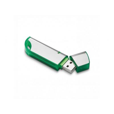 USB Stick roundness grün-silber WM0003134