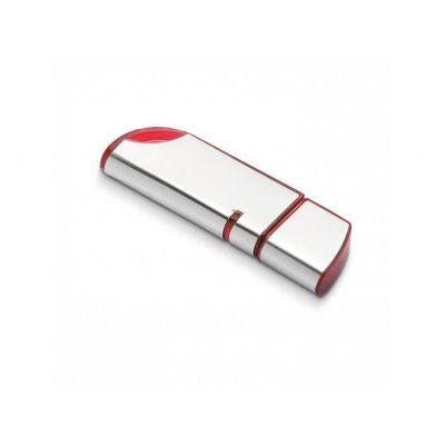 USB Stick roundness rot-silber WM0003132