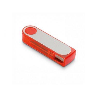 USB Stick plastic turn rot-silber WM0003231