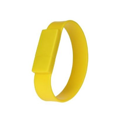 USB Stick band gelb WM0002057