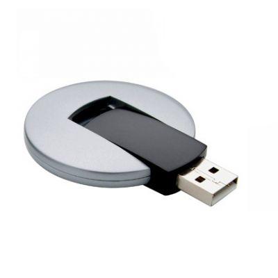 USB Stick round silber-schwarz WM0009107