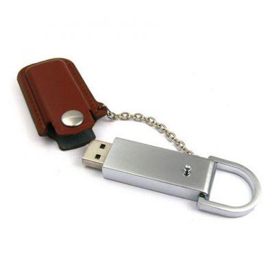USB flash drive cover braun
