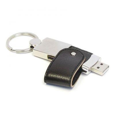 USB flash drive strap silber-schwarz WM0012407