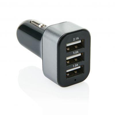 3.1A Auto Ladegerät mit 3 USB Anschlüssen bedrucken