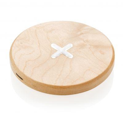 5W Wirless-Charger aus Holz bedrucken