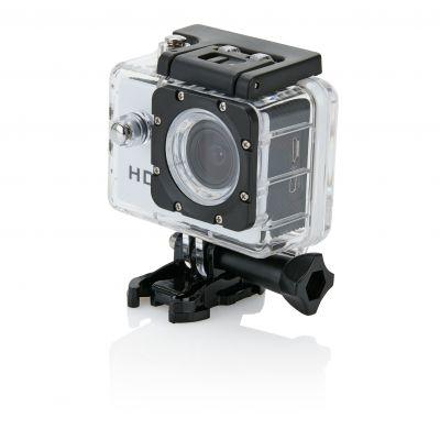 Action Kamera mit 11tlg. Zubehör bedrucken