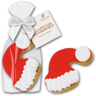 Cookie Weihnachtsmütze (ZU0029100) bedrucken