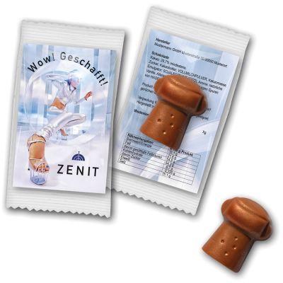 Schokoladen - Sektkorken (ZU0037700) bedrucken