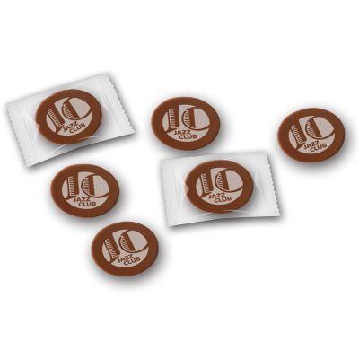 Schokoladennapps Vollmilch (ZU0038300) bedrucken