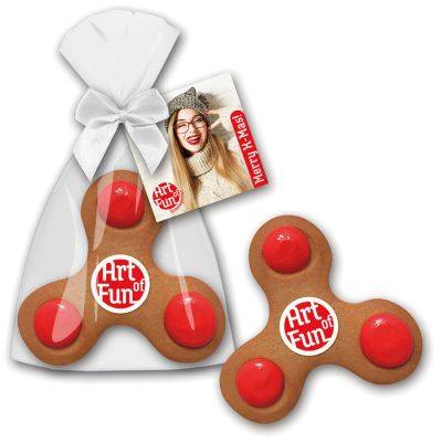 Fidget Spinner Cookie mit Logo (ZU0030900) bedrucken