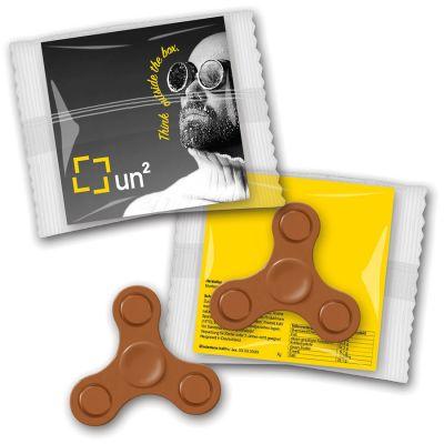 Fidget Spinner Schokolade (ZU0035000) bedrucken