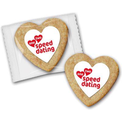 Cookie als Herz (ZU0037200) bedrucken
