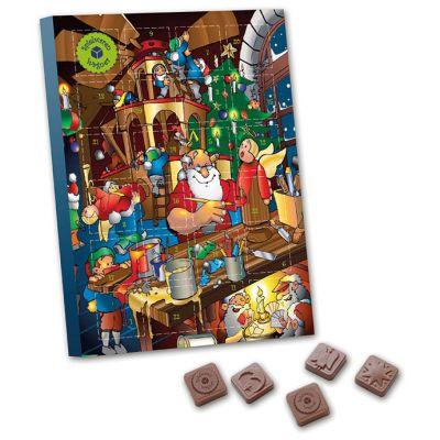 A4 Schokoladensonderform Tischkalender (ZU0017300) bedrucken
